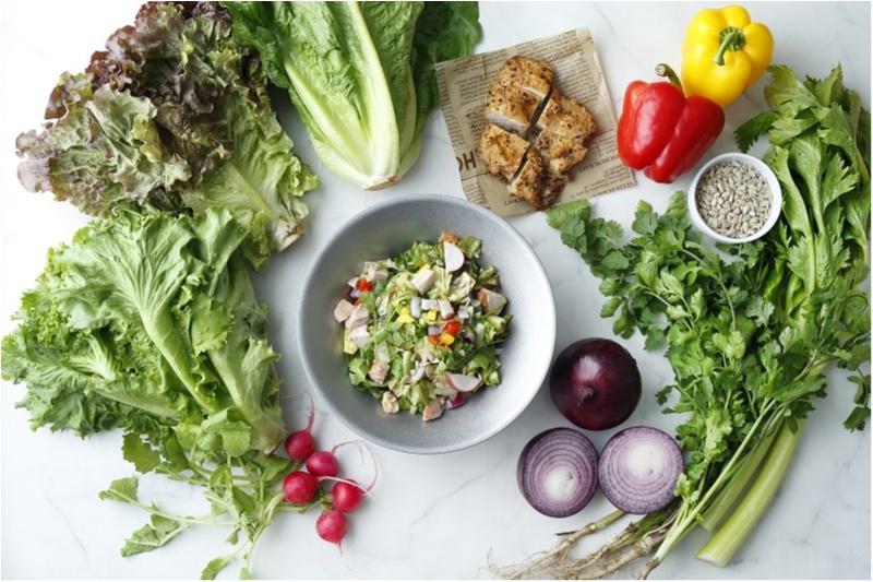 新宿のおすすめヘルシーランチはD.I.Y. salad & delicatessen1