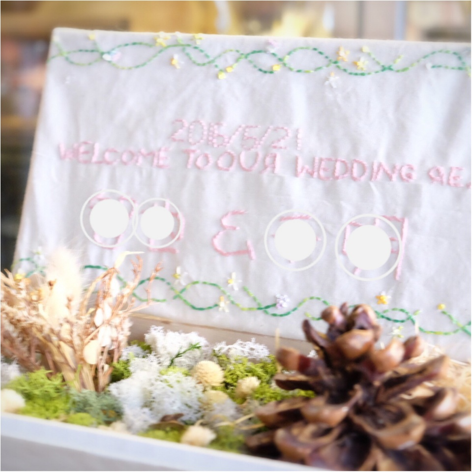 …ஐ 【結婚式DIY】ウェルカムボードはオリジナル☆コンセプトに合わせて自分でつくろう✌︎ ஐ¨_4