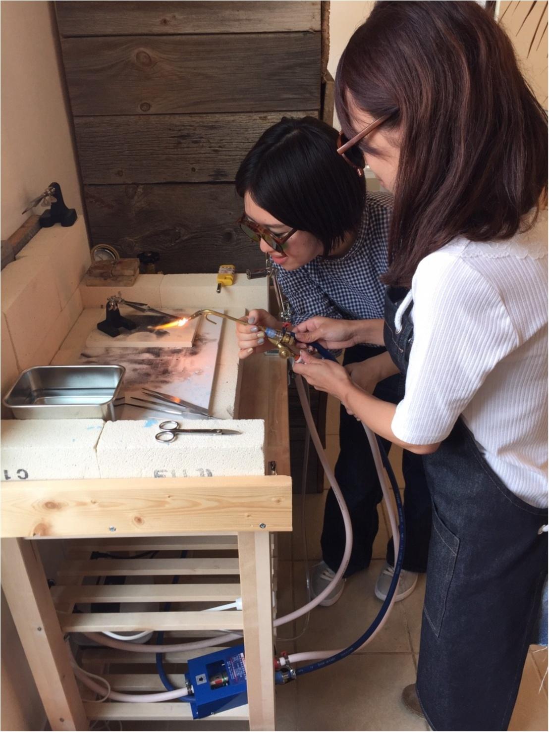 【プレ花嫁】世界に1つの手作りリング(  ˊᵕˋ  )彼と作ってきました!_10
