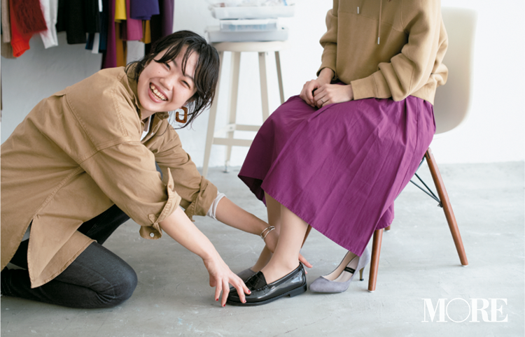 【読者変身】無難、甘すぎ、いつも同じ……きれい色スカートのお悩み、スタイリスト高野さんが解決します☆_4_4