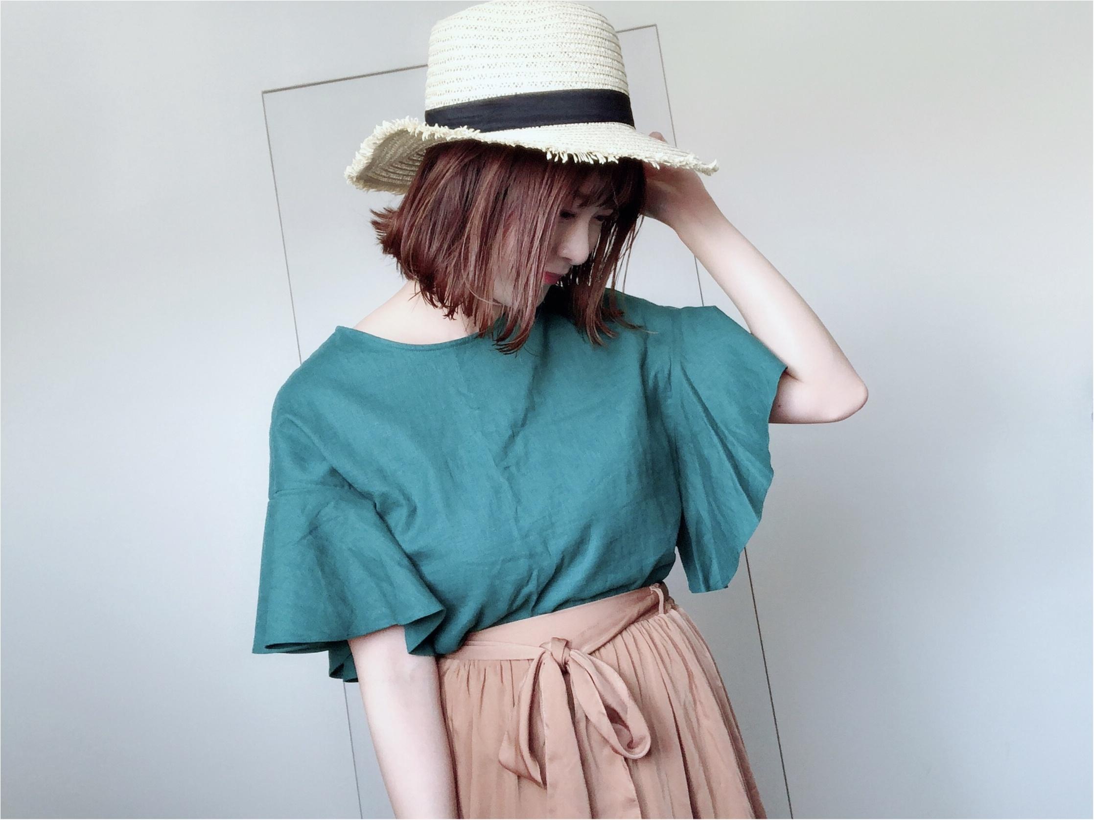 "【GU】夏といえばやっぱり""リネン""!今年はシャツじゃなくて〇〇が可愛い❤️_3"
