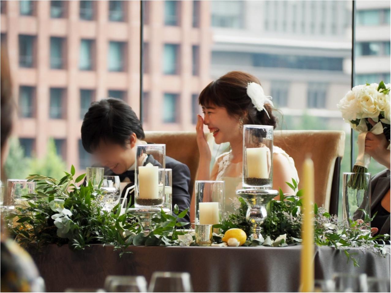【パレスホテル東京】MOREインフルエンサーNo.600 asuちゃんの素敵な結婚式❤︎_10