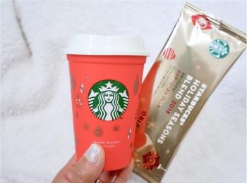 大人気アイテム!【スタバ】リユーザブルカップのクリスマス限定デザインが可愛すぎる❤️