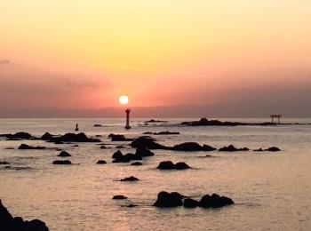 日帰り編・海に浮かぶ鳥居