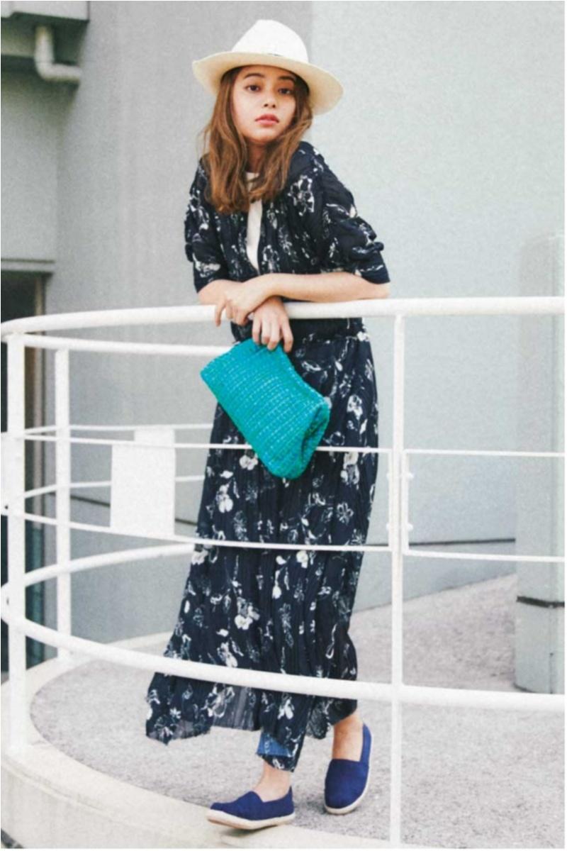 日焼け防止のマストアイテム 【帽子】の今どきコーデ15選   ファッションコーデ_1_8