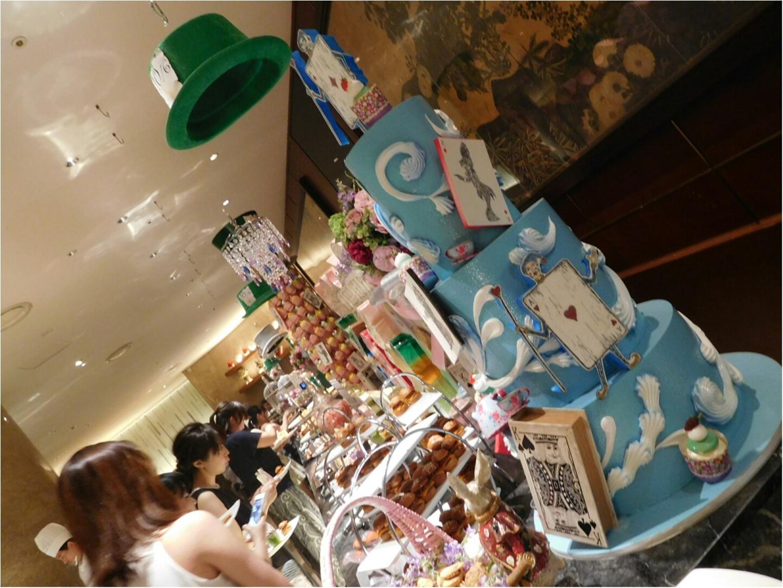フォトジェニックすぎる!!ヒルトン東京でアリスなお茶会を♡479ぱるるん_2