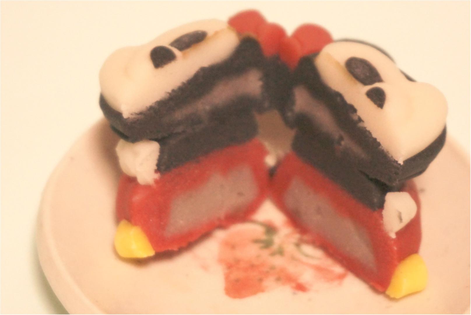 【3日間限定‼︎】ミッキーとミニーが可愛い和菓子に大変身( ´艸`)♡セブンで3日間だけ限定発売✨_5