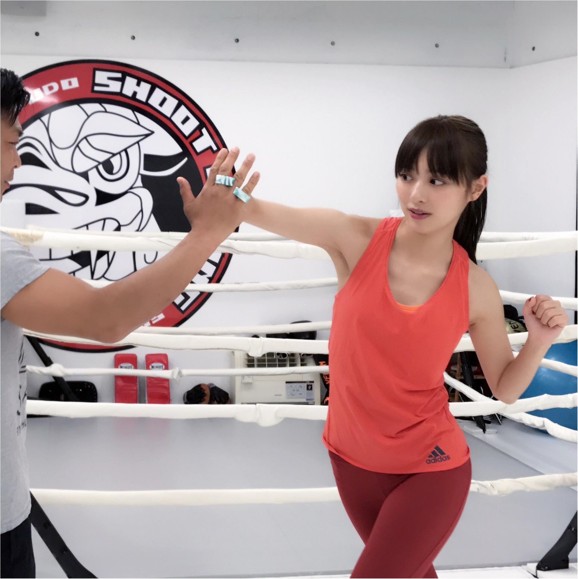 だーりおのキックが、ますます進化中!? 『シーザージム渋谷』に通い始めたよ! 【#モアチャレ 内田理央の「キックボクシング」チャレンジ!】_5
