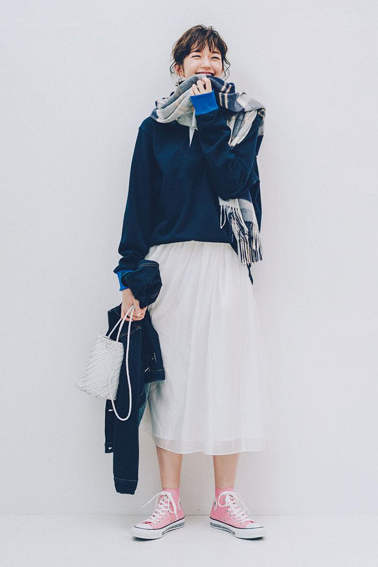 コンバースのスニーカー特集 - 20代ファッション(レディース)   おすすめのコーディネートまとめ_15