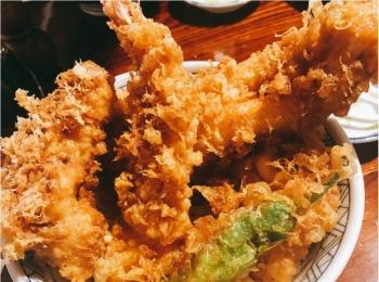 平日でも行列が!ボリュームたっぷり♡本当に美味しい天ぷら屋さん