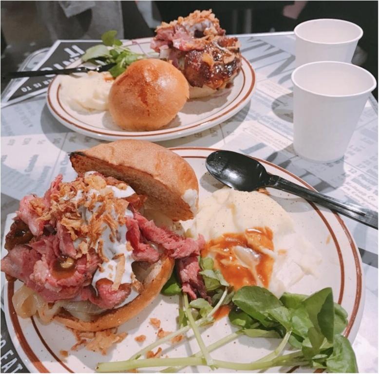 【J.S.Burgers Cafe】から《クリスマス限定メニュー》が新登場★ローストビーフとチキンバーガーが同時に堪能できちゃいます♡♡_5