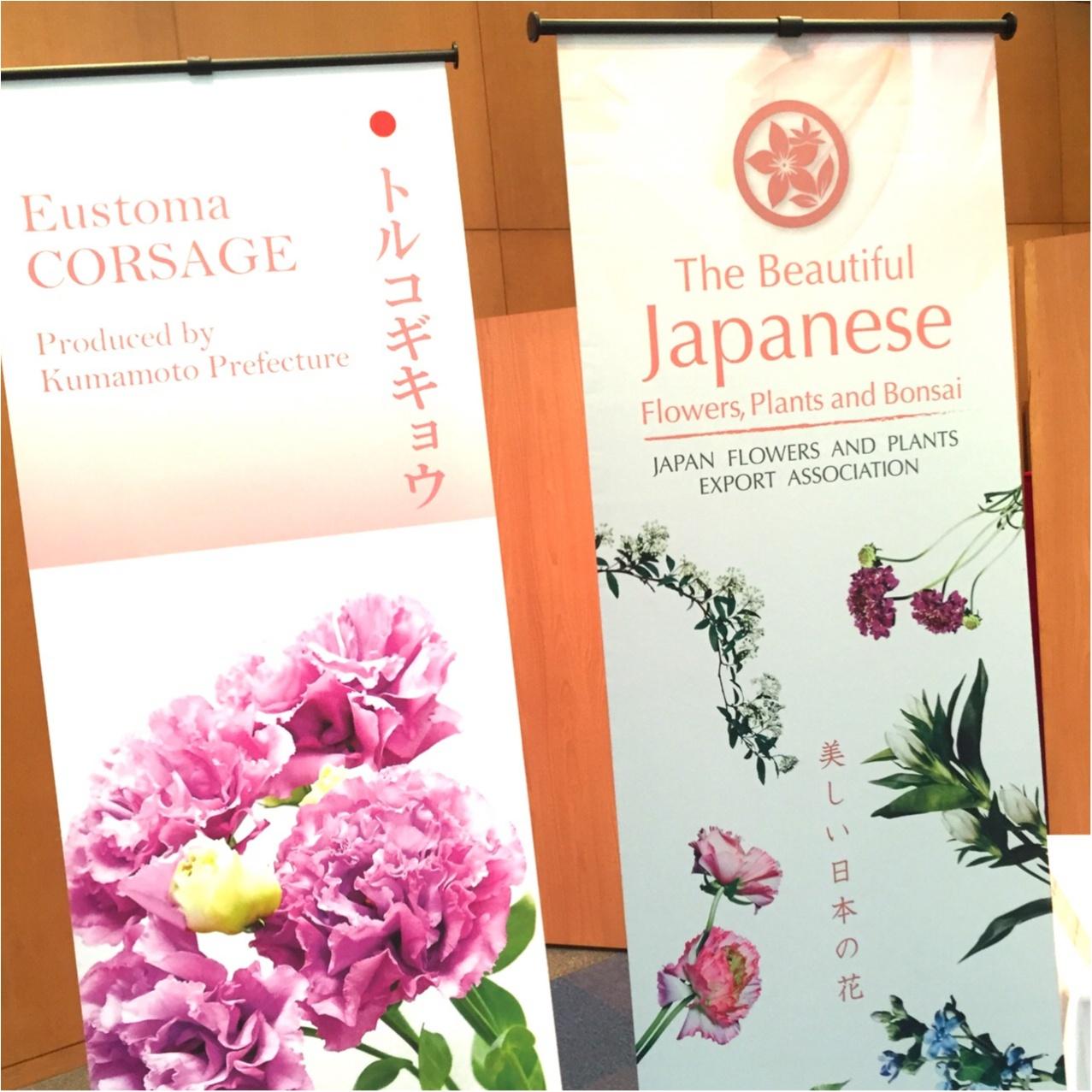 日本文化を世界に発信♪假屋崎省吾さんの華道イベント♡_3