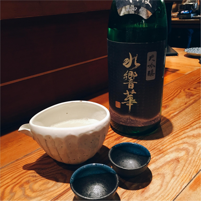 【恵比寿】そば・しゃぶしゃぶ・日本酒を楽しむなら『まにん』✨黒豚つけ麺そばが絶品〜♡_9_2