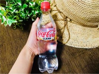 衝撃!ついに【コカ・コーラ】まで透明に!そしてなにより嬉しいゼロカロリー♡♡