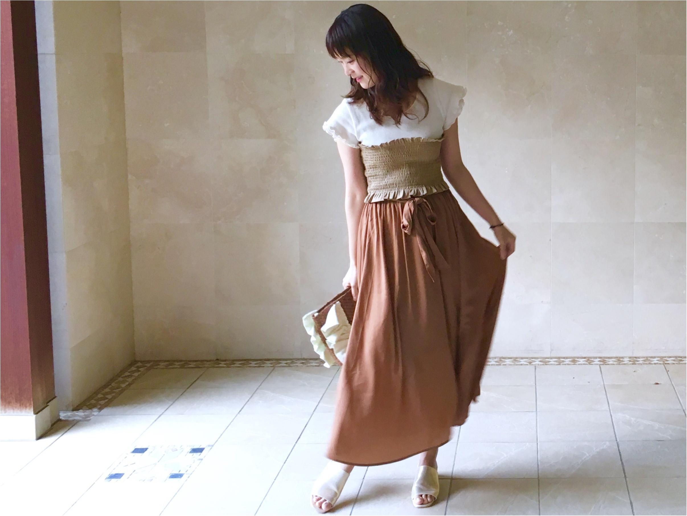 【GU】着ていると褒められる《高見えスカート》❤️¥1500で今から秋まで着倒せます!_2