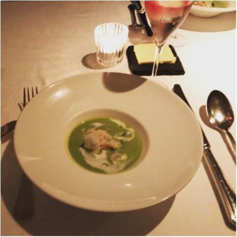 【AUXAMIS TOKYO】東京駅丸ビル35階絶景のフレンチレストランで誕生日ディナー♡_6