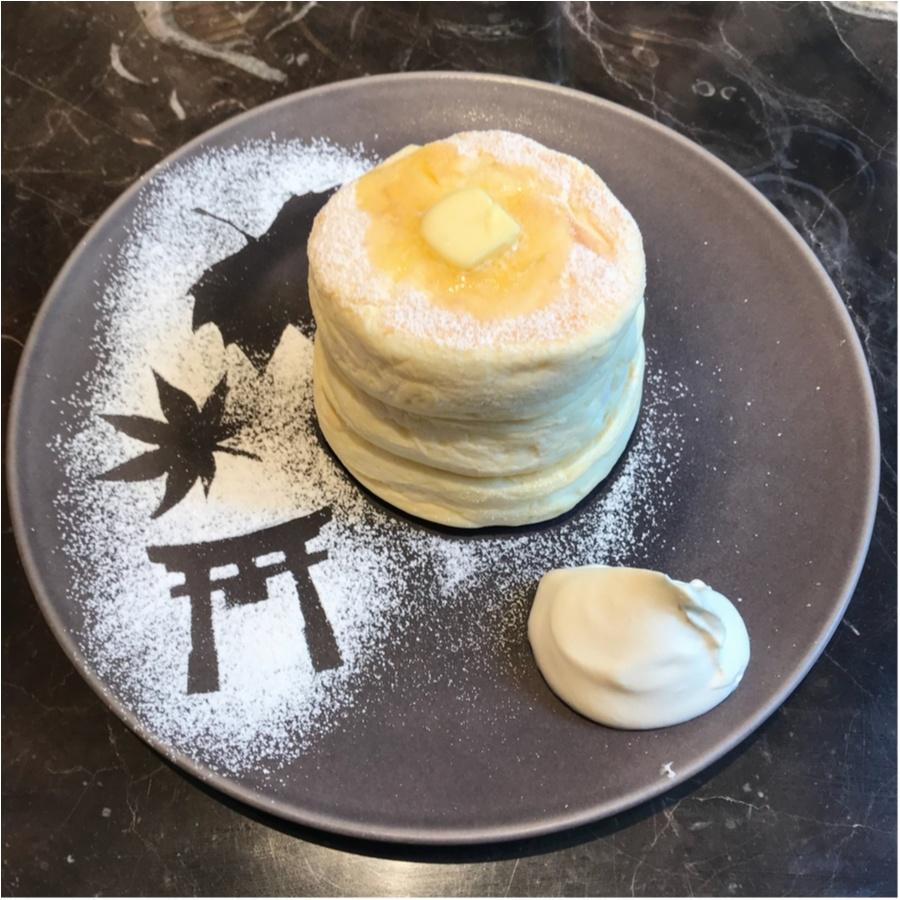 パンケーキ 京都 ミカサデコカフェ