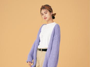 注目のきれい色【パープル】コーデ見本 | ファッション(2018年秋冬編)