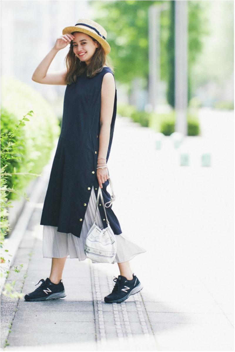 日焼け防止のマストアイテム 【帽子】の今どきコーデ15選   ファッションコーデ_1_9