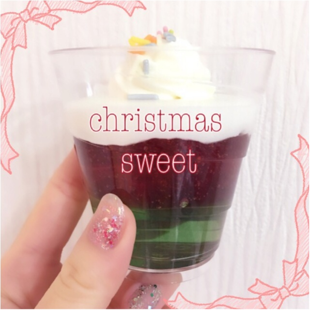 プチプラhappyなクリスマススイーツ♡セブンの『カラフルツリーゼリー』がかわいくてとってもおいしい!_2