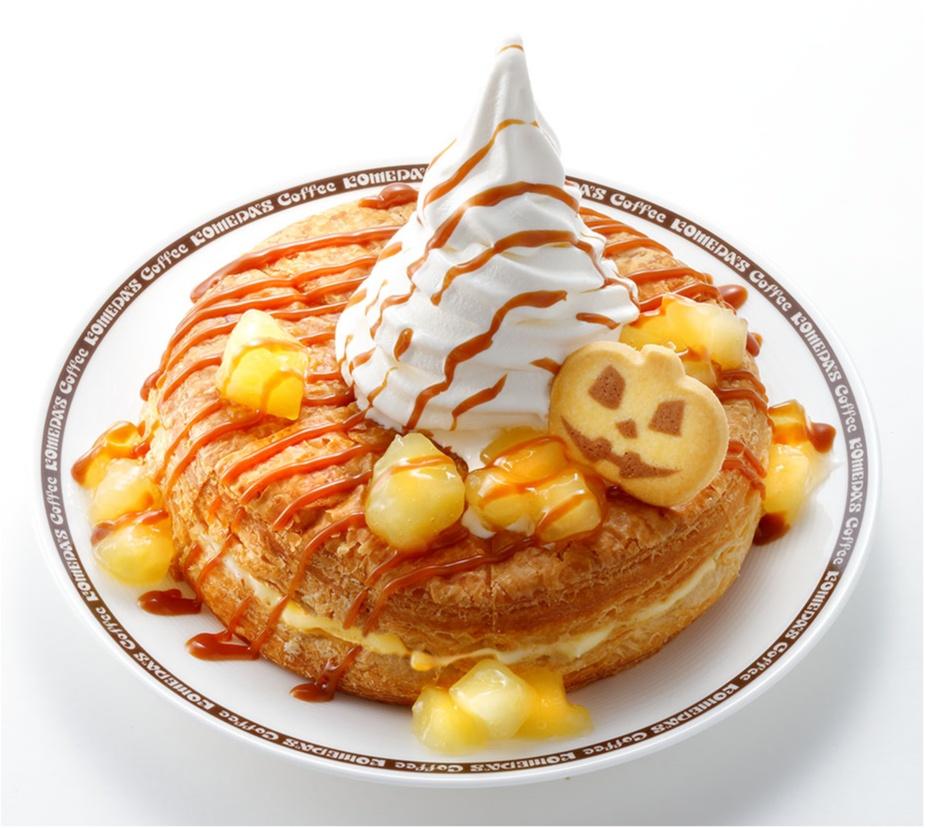 『コメダ珈琲店』の「シロノワール」にもハロウィンがやってきた!!_1