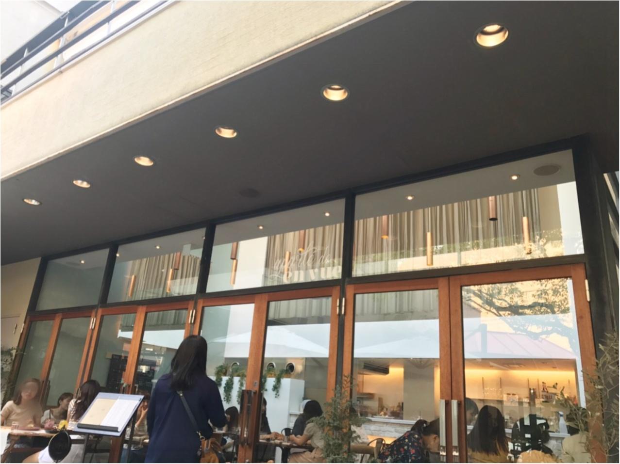 大阪カフェ★いちばんおしゃれな街・堀江の評判◯△◻︎(マルサンカクシカク)のタルトも食べられる!緑いっぱいのカフェ♡♡_1