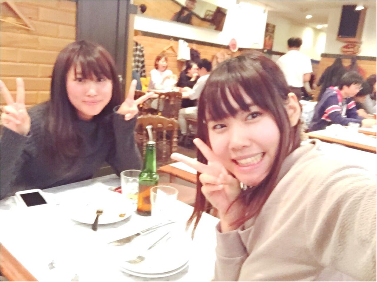 本格窯焼きピッツァが食べられる新宿のイタリアンでモアハピのあの子と9ヶ月ぶりのランチ♡_2