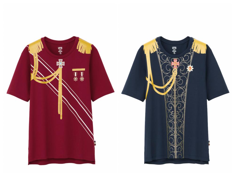『ユニクロ』にオスカル降臨♡『ベルばら』Tシャツ、もう買った!? _1