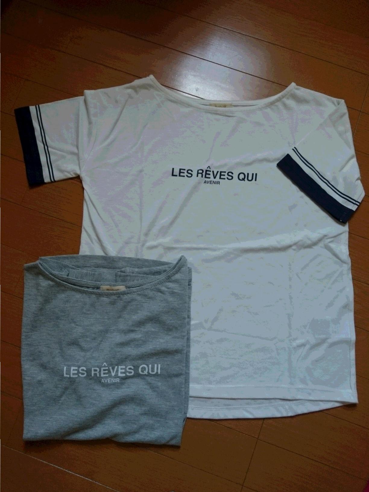 今年の夏 着回しTシャツは【HushHush】の ロゴ入りTシャツ☆_2