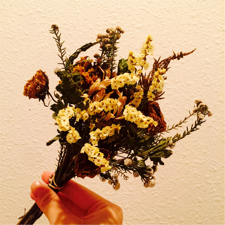 大切な花束はドライフラワーに、、*思い出を残しておこう!_3