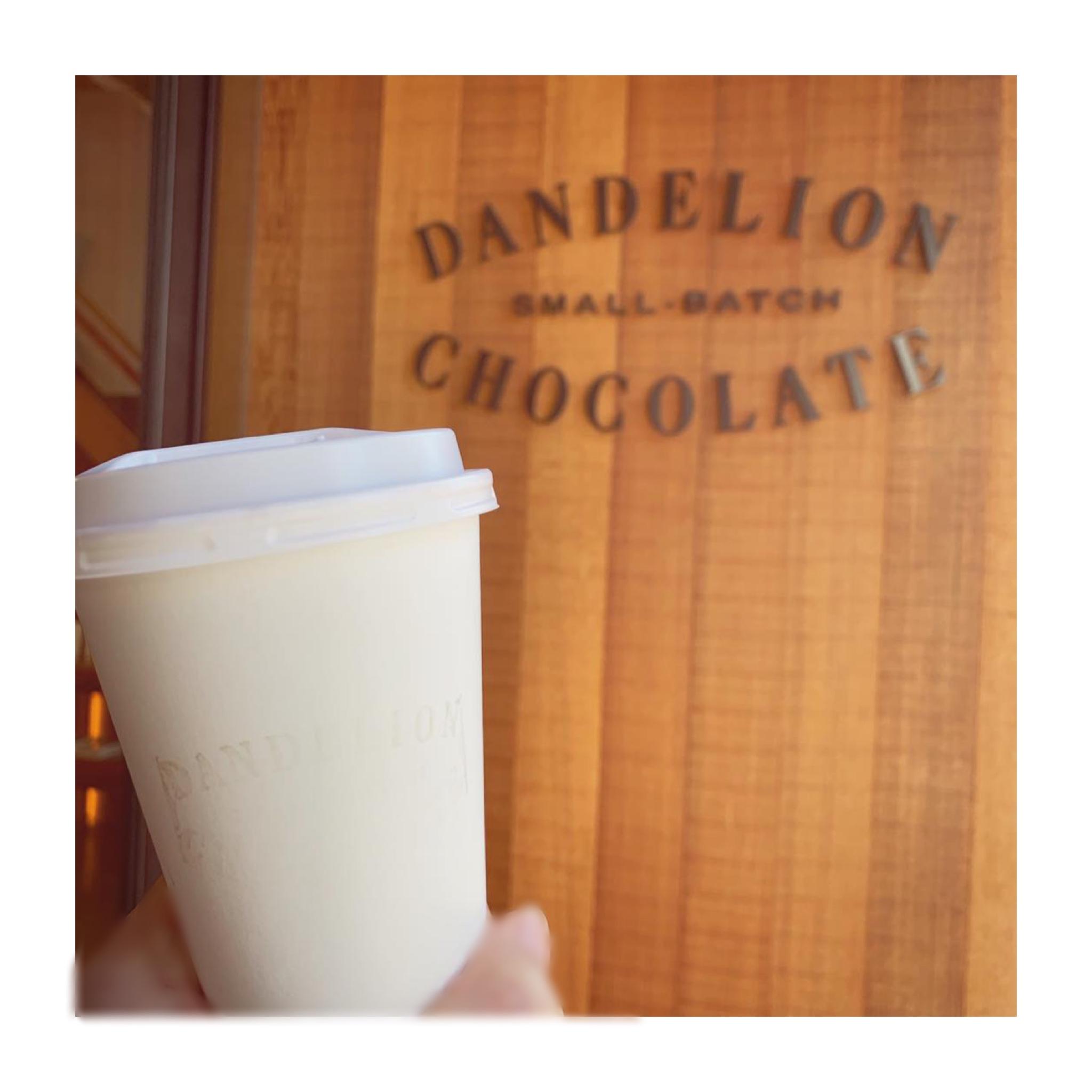 #20【#cafestagram】❤️:《東京•蔵前》都内で美味しいホットチョコレートを飲むならココ☝︎❤︎『DANDELION CHOCOLATE』☻_4