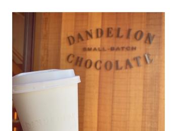 #20【#cafestagram】❤️:《東京•蔵前》都内で美味しいホットチョコレートを飲むならココ☝︎❤︎『DANDELION CHOCOLATE』☻