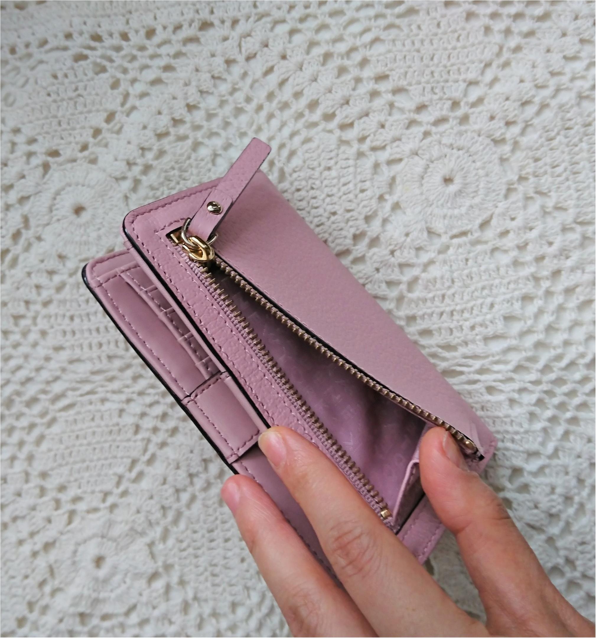【kate spadeのスマート財布】小さいバッグの時の中身!_3