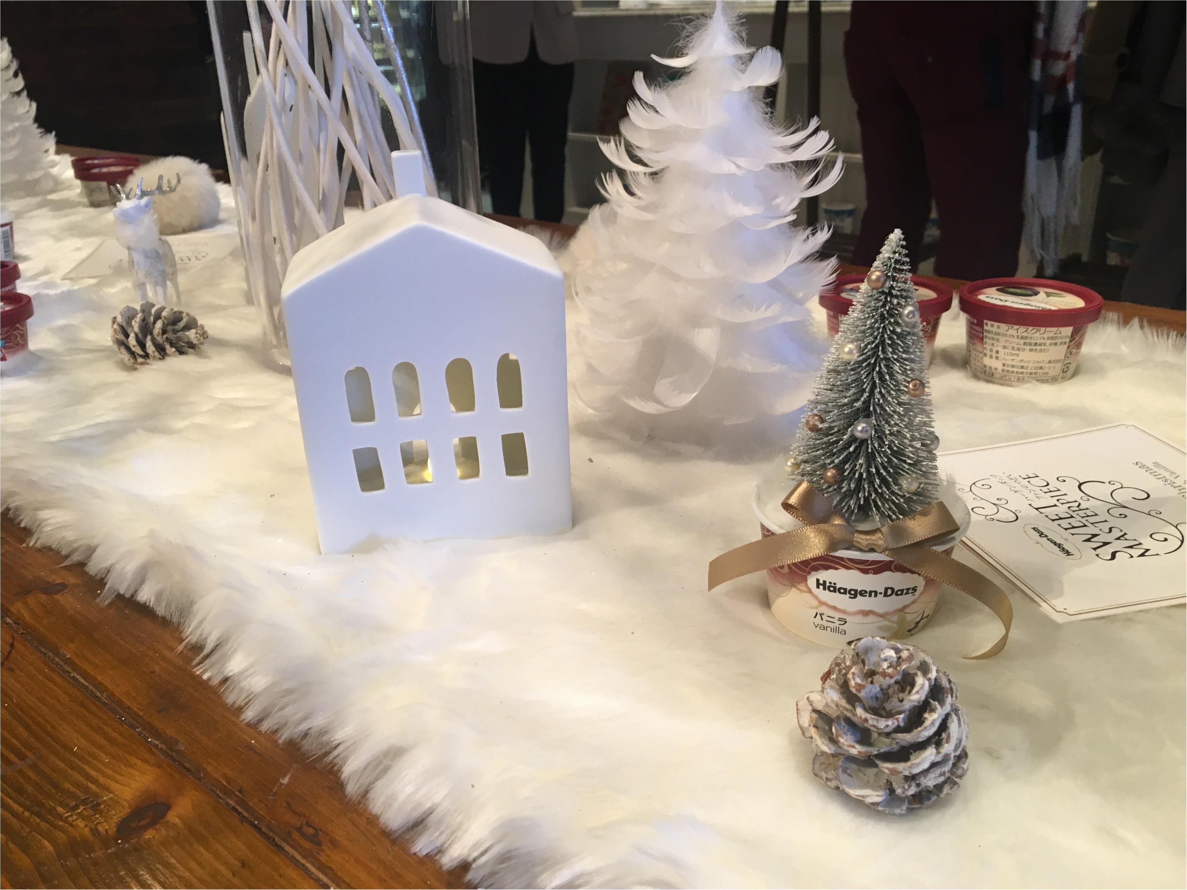 【イベントレポ】12/5発売の新商品も食べられちゃった!素敵すぎる「ハーゲンダッツクリスマスパーティー」_3