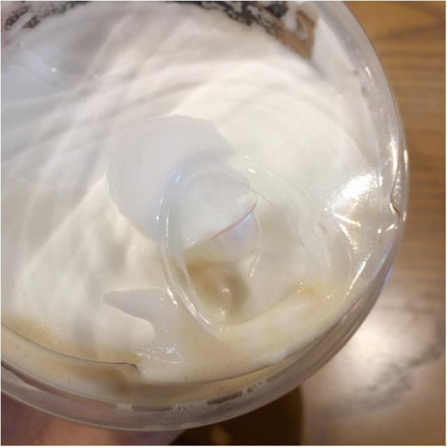 <3/15発売>#白いコーヒー体験!スタバの新作はフワフワもっちり+ホワイトな新食感コーヒー♡_3