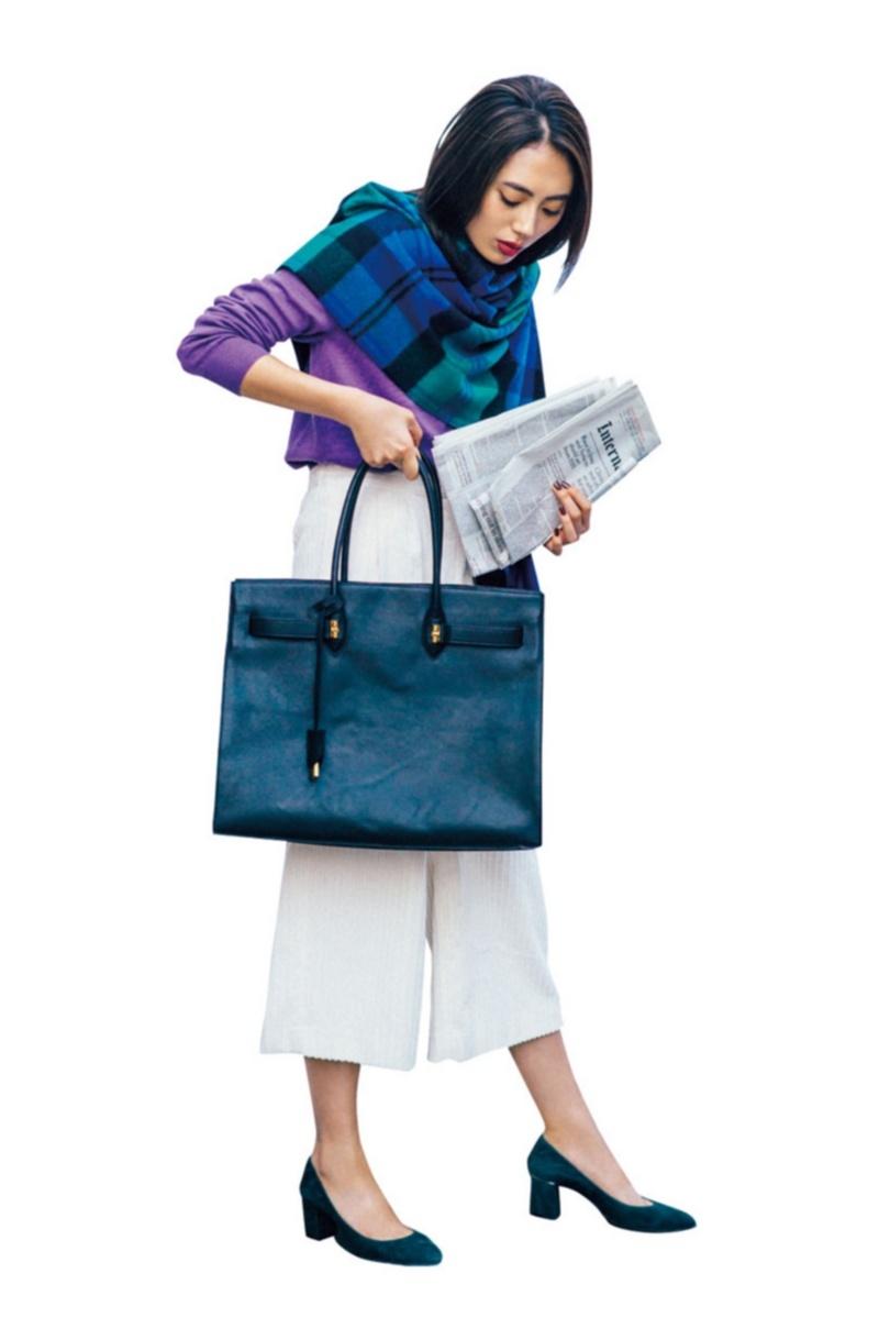 暗い色を着がちな秋にこそ映える【きれい色】コーデ見本帳 | ファッション(2018年編)_1_8
