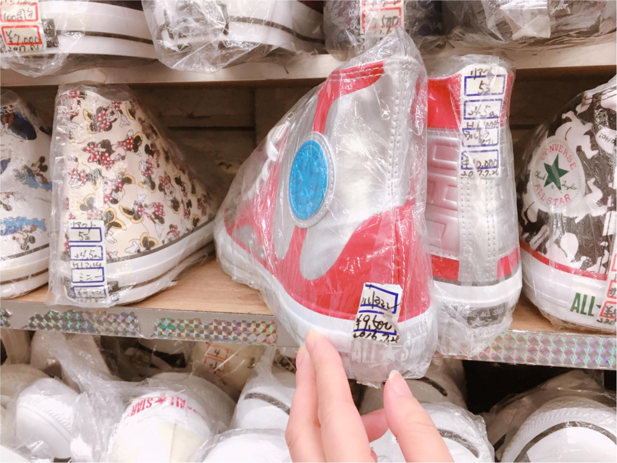 「コンバースの聖地」と呼ばれる【柿本商店】ゲットしそこねたレア物が手に入るかも!_4