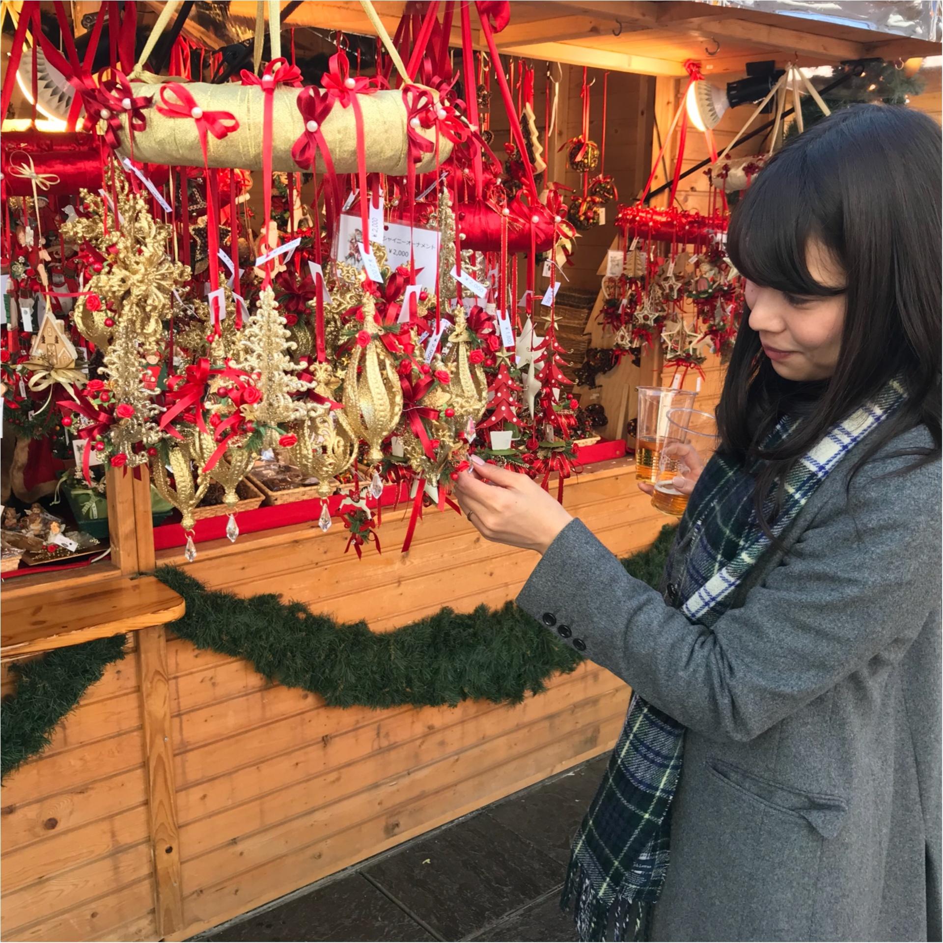 ★このシーズンには欠かせない、おすすめデートスポット♡それが『クリスマスマーケット』★_2