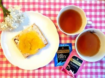 【ファミマ】の新作デザートとTWININGS紅茶2種で《フードペアリングvol.2》☆