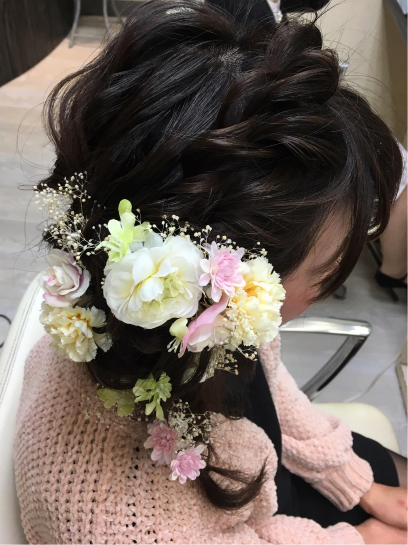【MORE大女子会2018】当日のほめられファッション&フラワーヘアアレンジ_4