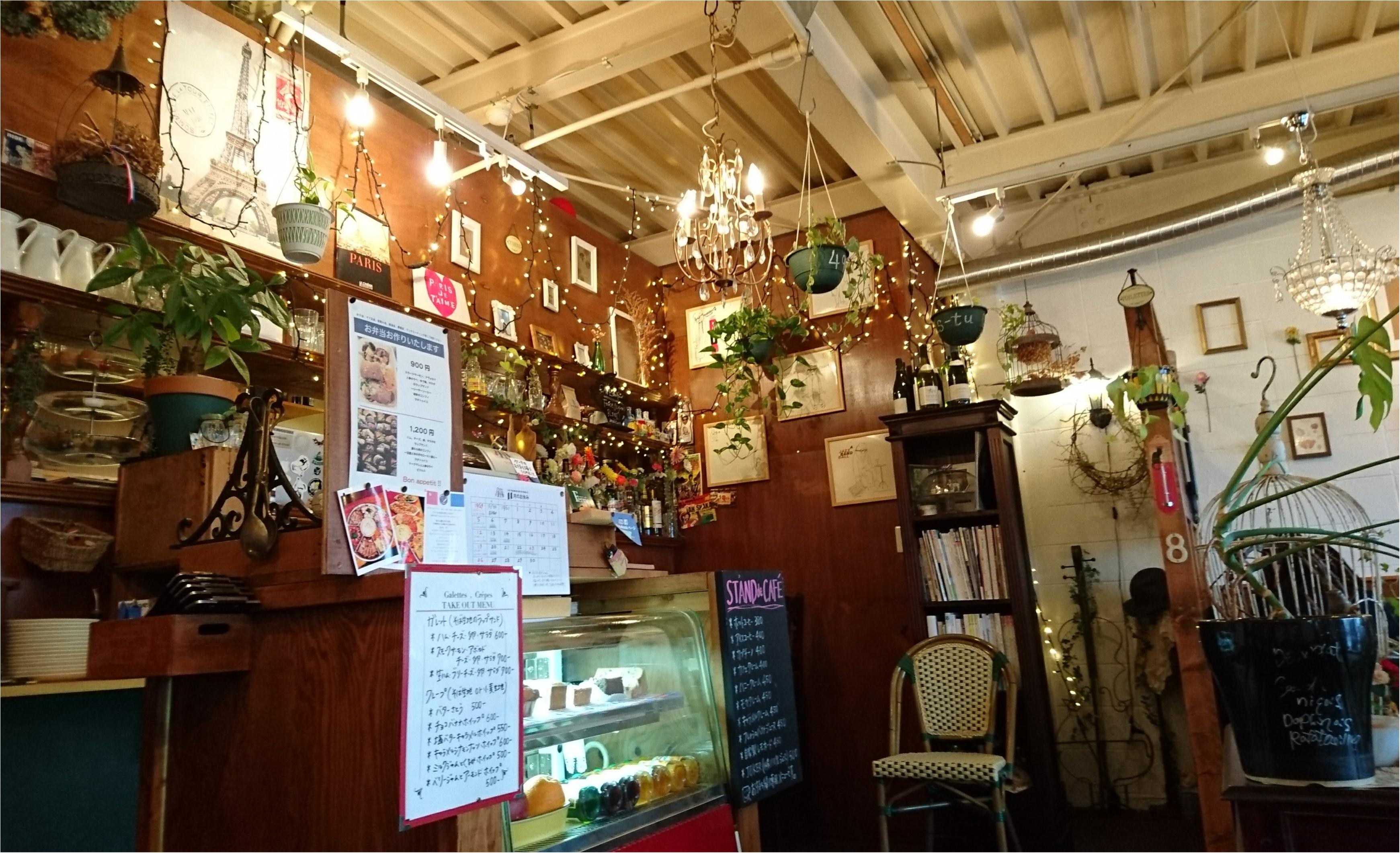 【ランチ】地元秋田にこんなにかわいいガレットのお店がありました(*´ω`*)_2