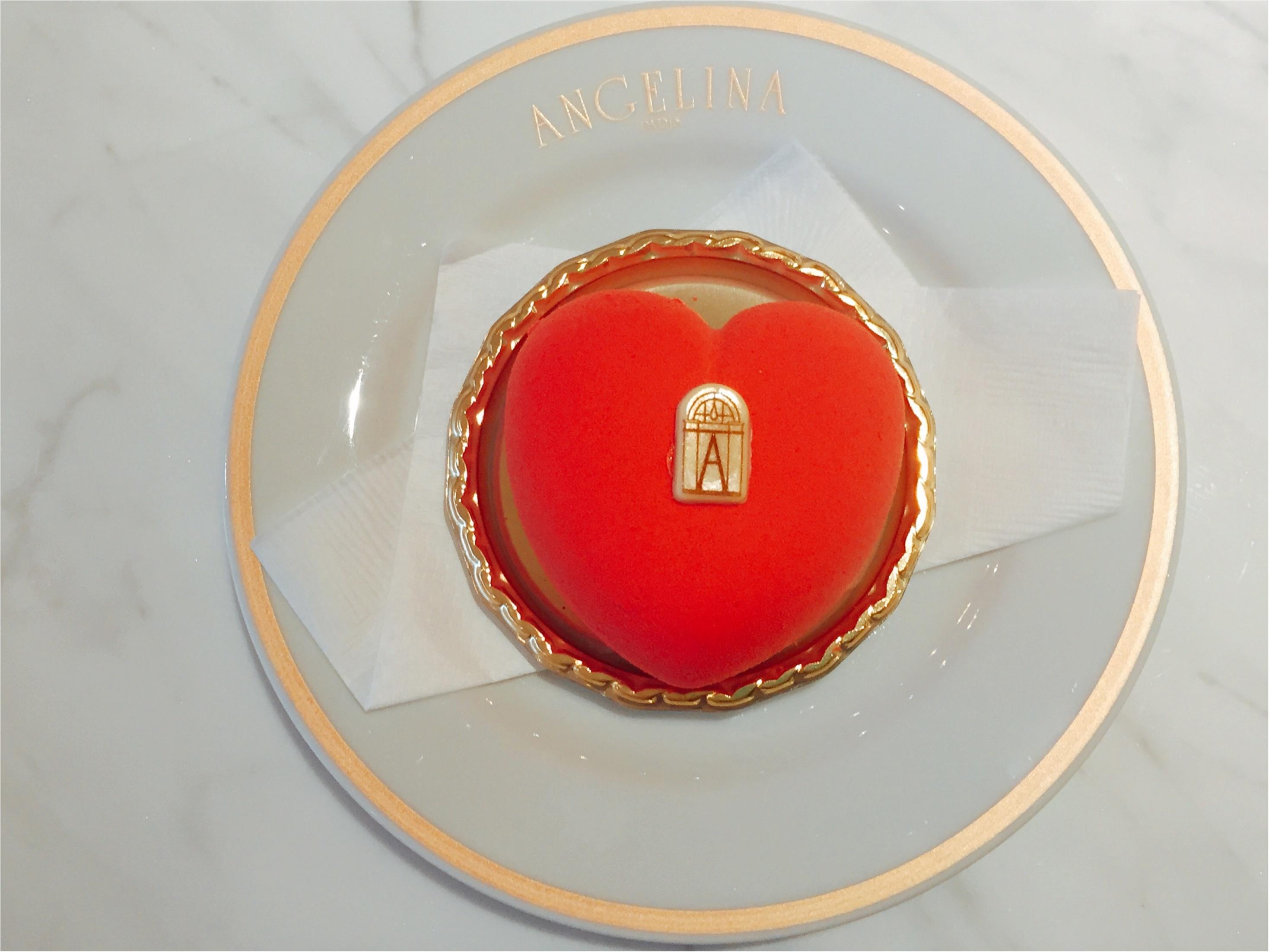 【バレンタイン限定】1903年創業のパリ老舗サロン「ANGELINA」のハート♡ケーキが可愛すぎて食べるのがもったいない!!_6_4