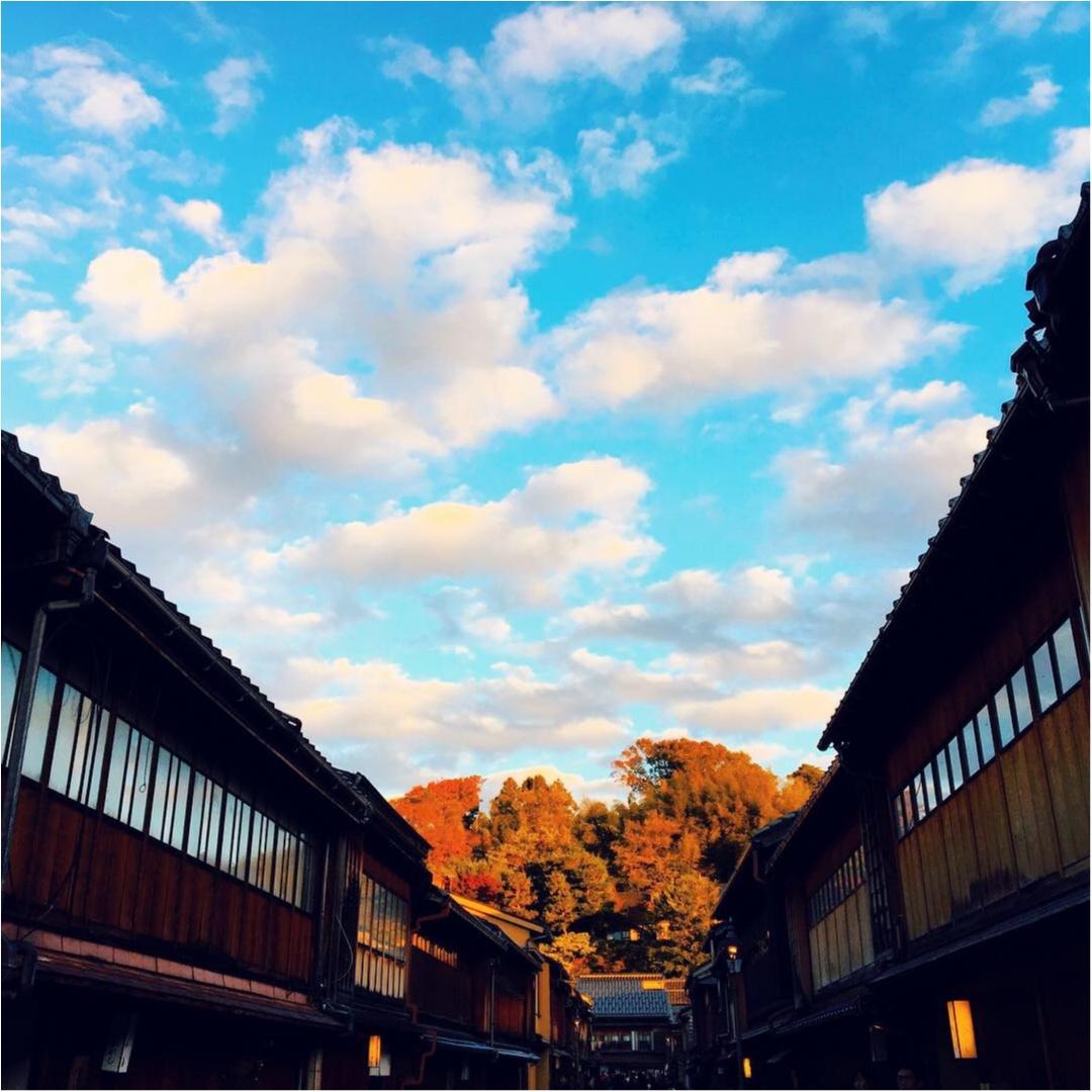 【金沢】金沢ひがし茶屋街にきたら必ず食べたい金箔ソフトクリーム♡_2