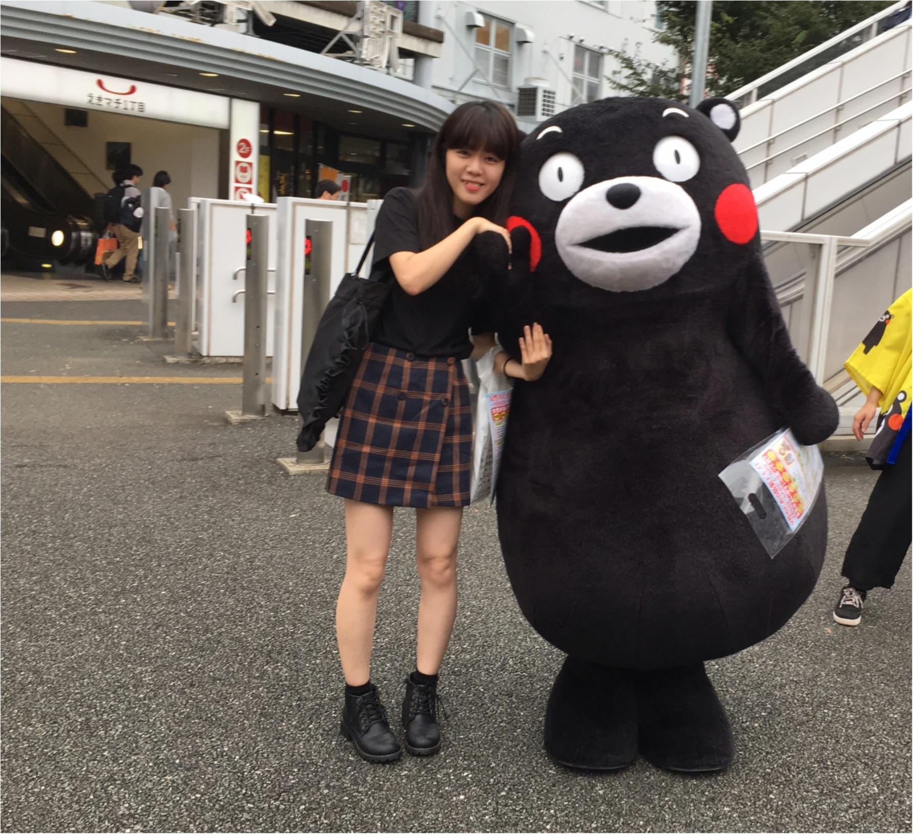 この後ろ姿は……まさかまさか!『くまモン』と遭遇しちゃいました!【#モアチャレ 熊本の魅力発信!】_3