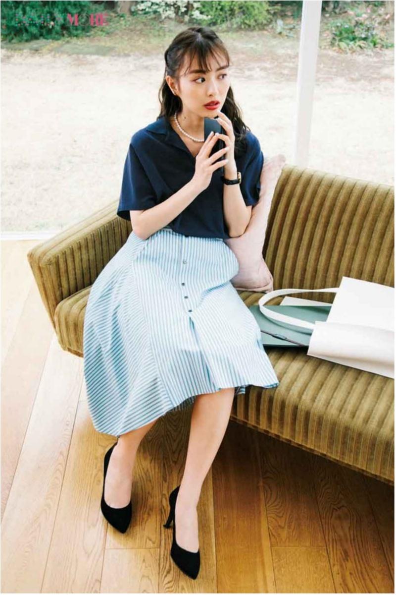 甘い服をほどよく大人にしてくれる「ポロシャツ」コーデまとめ♡_2