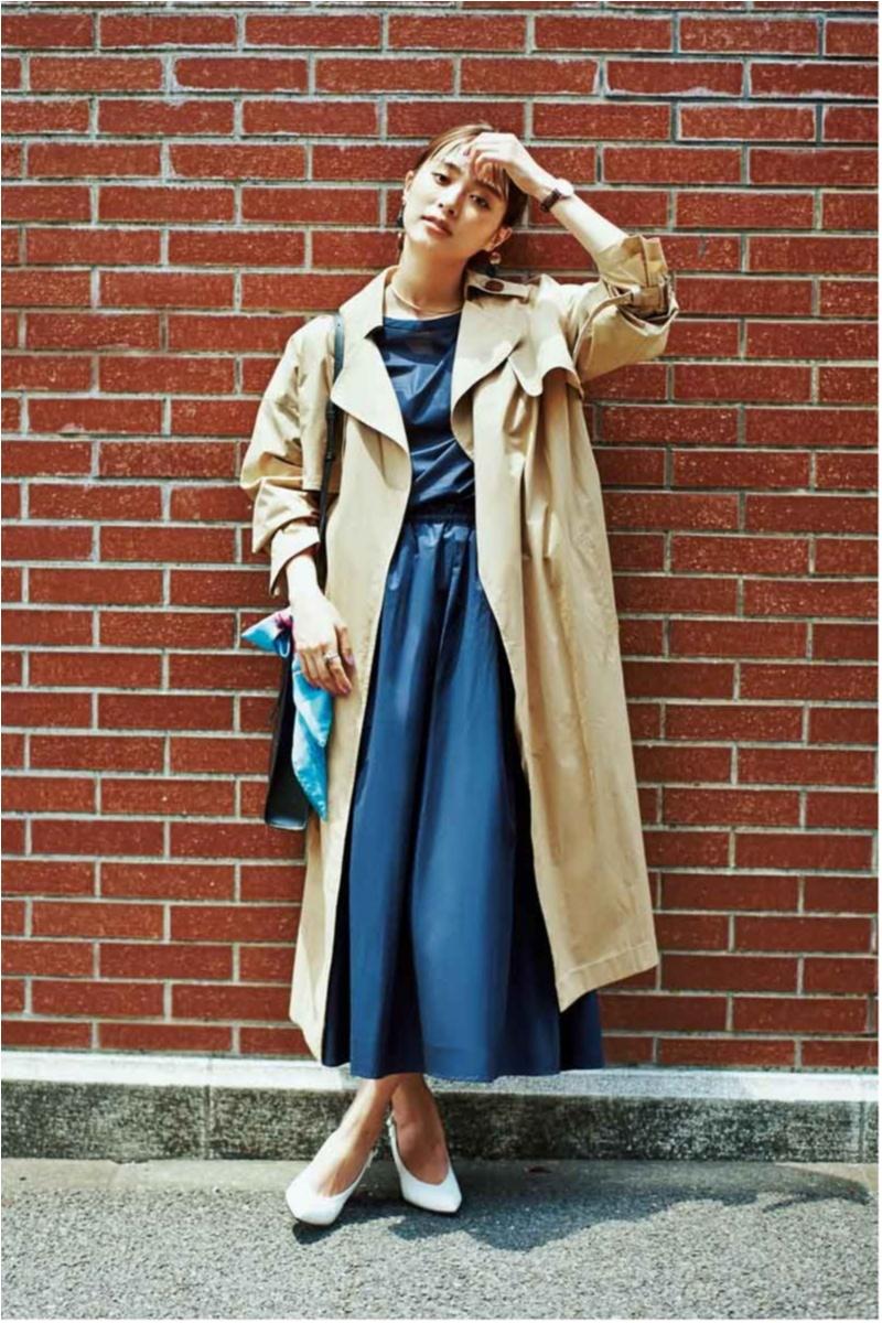 定番アウター【トレンチコート】の今どきコーデ10選  | ファッション(2018年秋)_1_7