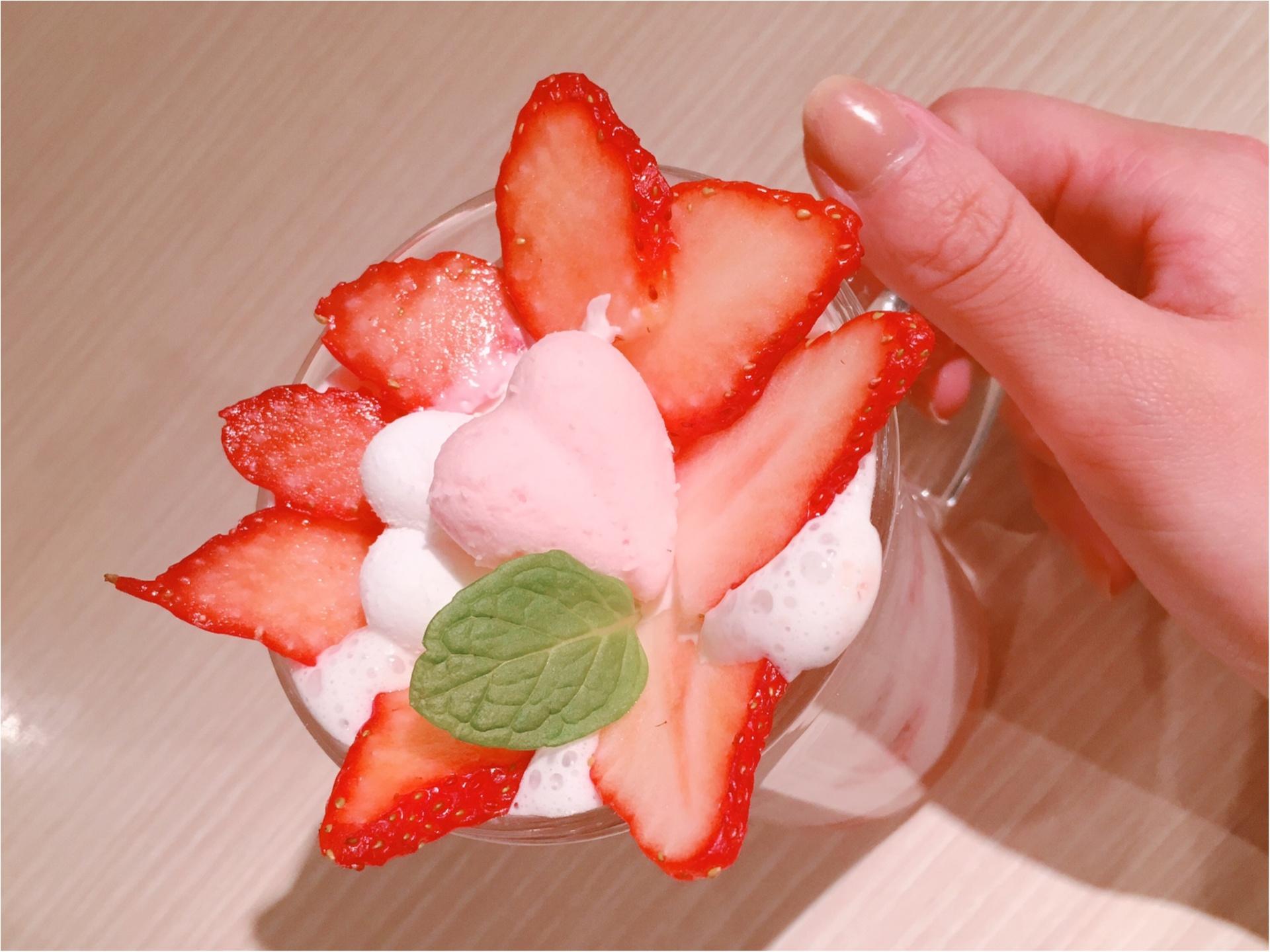 ハート型がかわいすぎっ!バレンタイン仕様のパンケーキが登場♡_4
