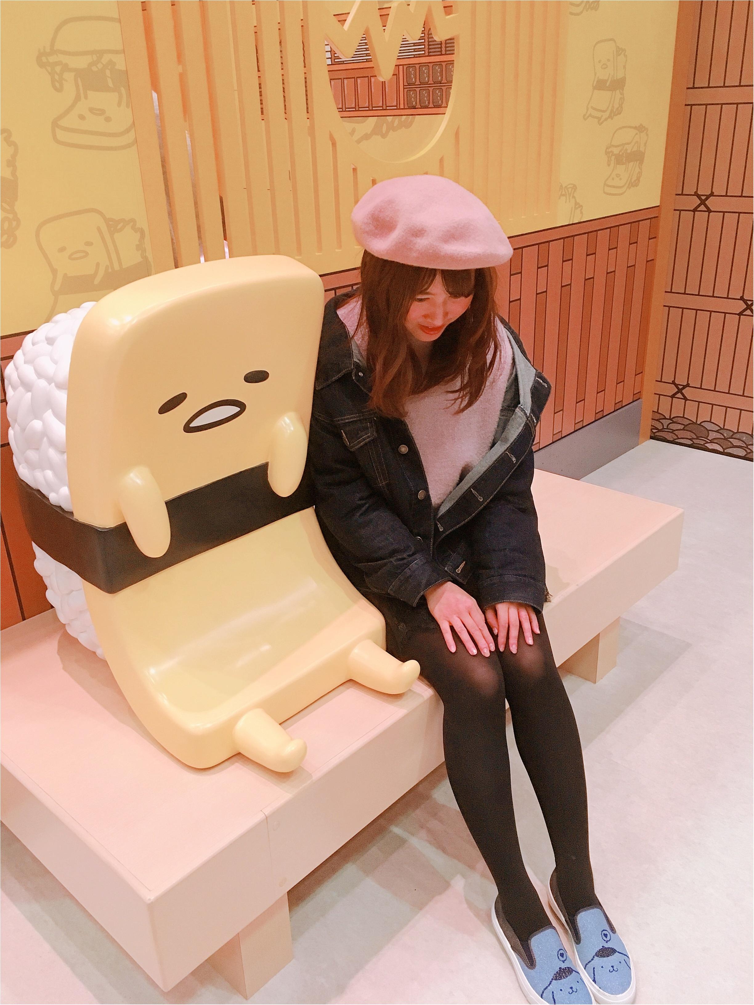 【GU(ジーユー)】今期トレンドのベレー帽を取り入れたコーデ♡_4