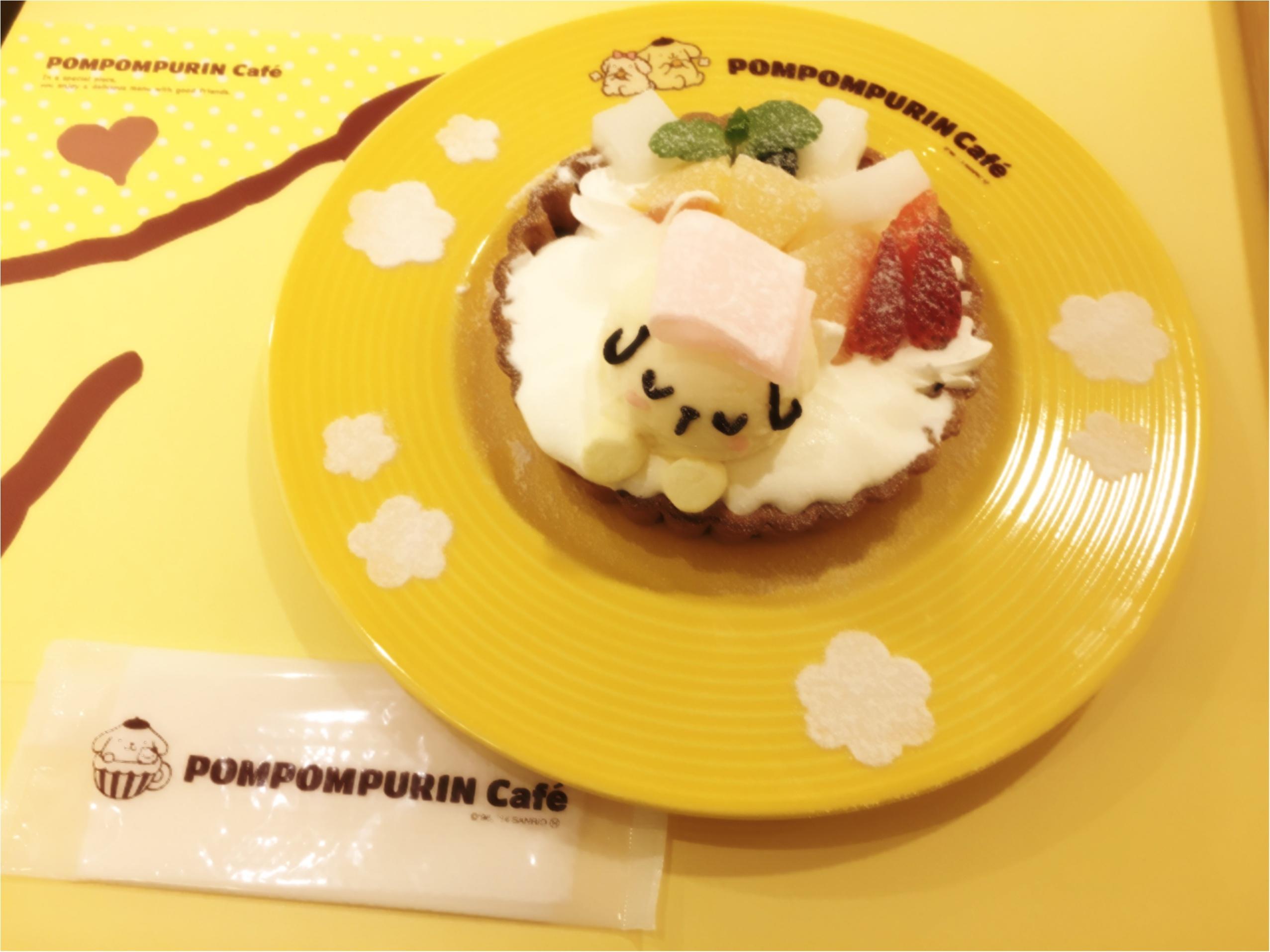 メニューリニューアル!かわいいかわいいポムポムプリンカフェに行ってきた♡♡_6