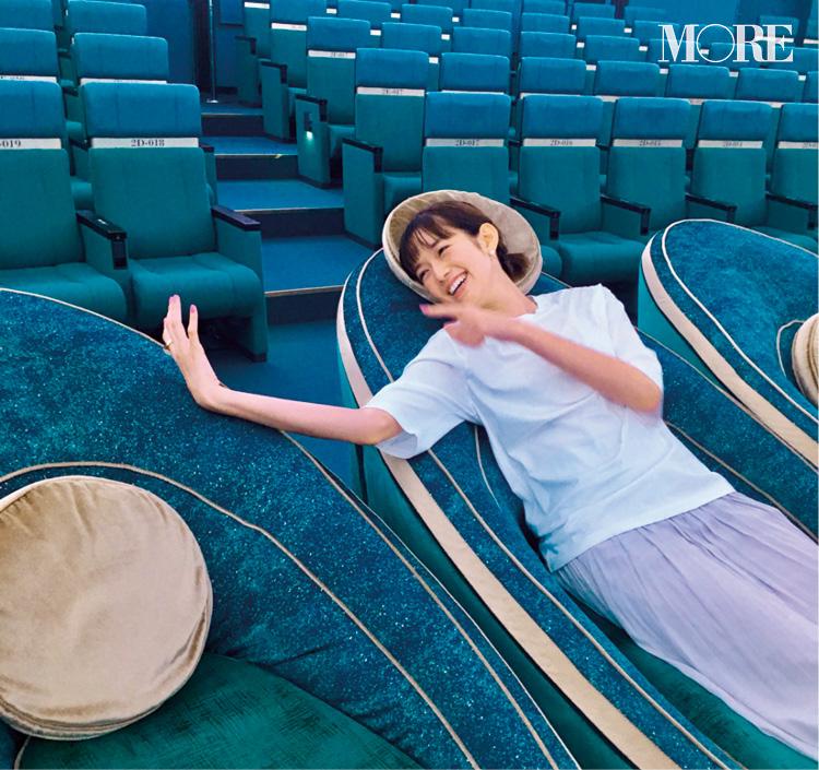 佐藤栞里の妄想劇場! デートでプラネタリウムに来たら……♡?【モデルのオフショット】_1